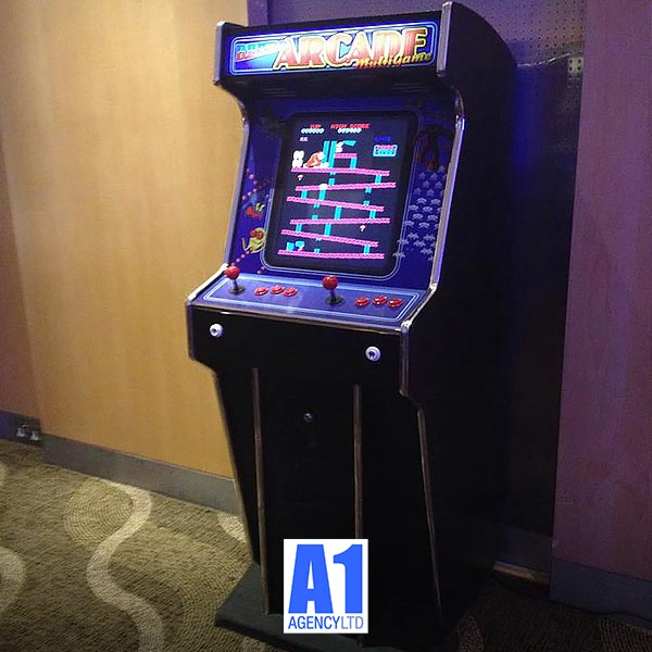 Retro Arcade Games for HIRE - Classic Video Games from the
