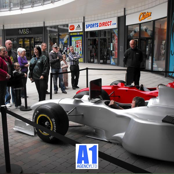 F1 Car Simulator Hire