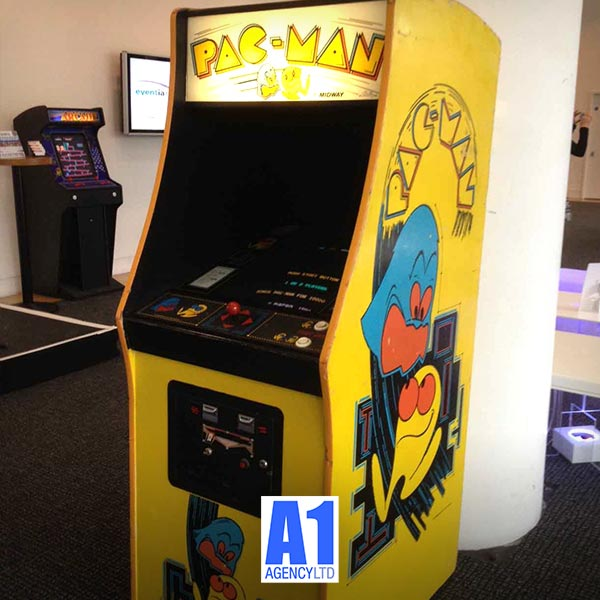 Pacman Machine Hire