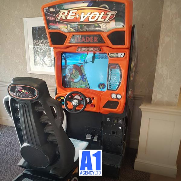 Revolt Racing game hire