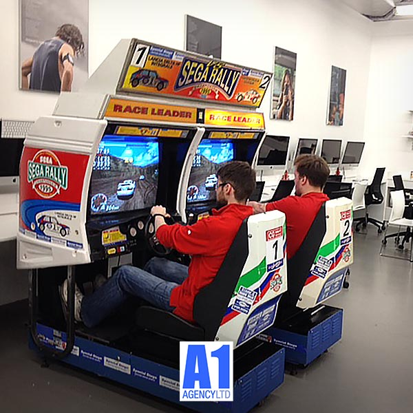 Sega Rally Racing Game