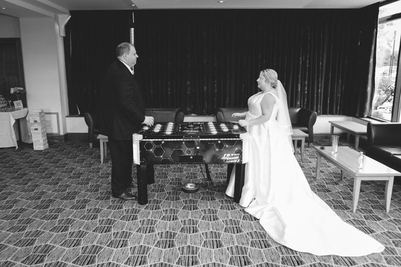 Wedding day retro games hire